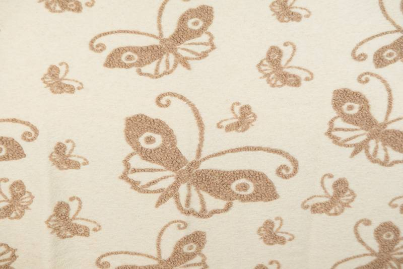 FEELGOOD HOME DECOR - PANNO CASENTINO - RED BUTTERFLY - FEELGOOD HOME DECOR - FARFALLA PANNA/BEIGE