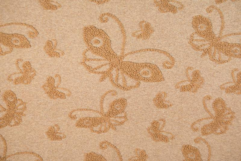 FEELGOOD HOME DECOR - PANNO CASENTINO - RED BUTTERFLY - FEELGOOD HOME DECOR - FARFALLA BEIGE/NOCCIOLA
